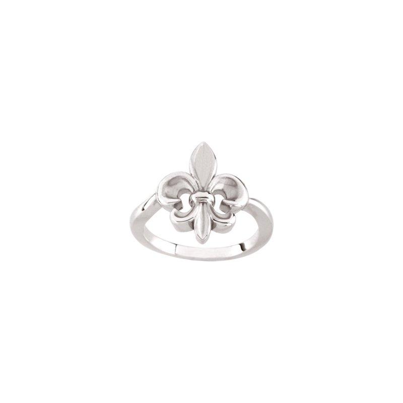 Ladies' Jewelry Fleur-de-Lis Ring