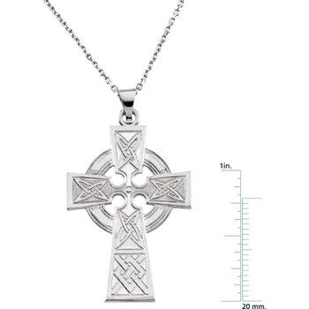 Celtic Cross Pendant Large