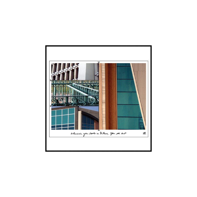 El Paso Star and Gifts The Heartbeat of El Paso Gift Collection Scenic Notecard Set