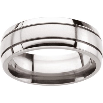 Comfort-Fit Wedding Band