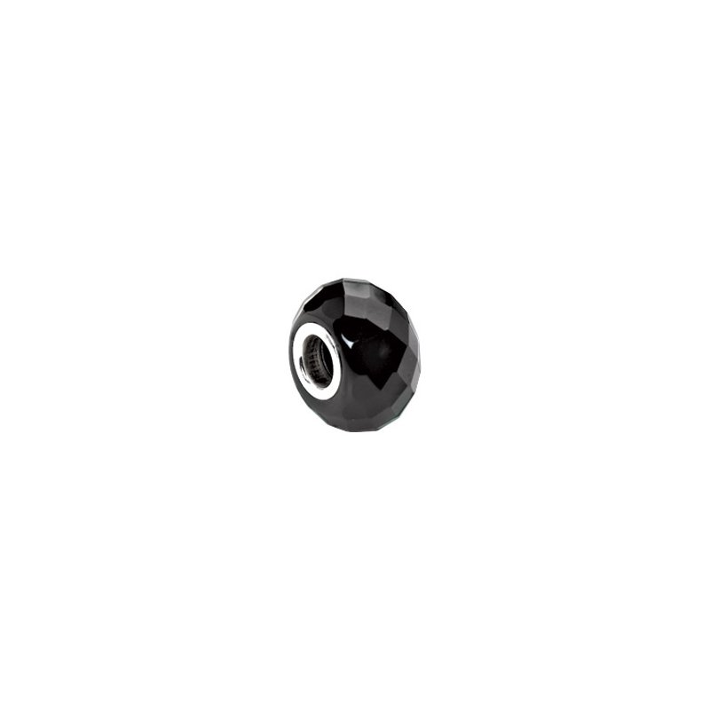 Holiday Ideas Kera Facted Black Onyx Natural Stone Bead