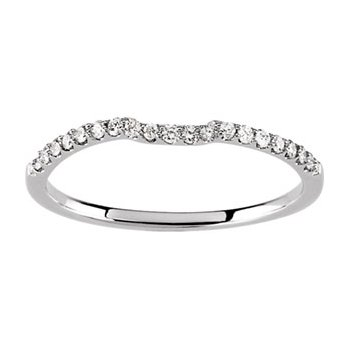 1/6 ct tw Diamond Wedding Band