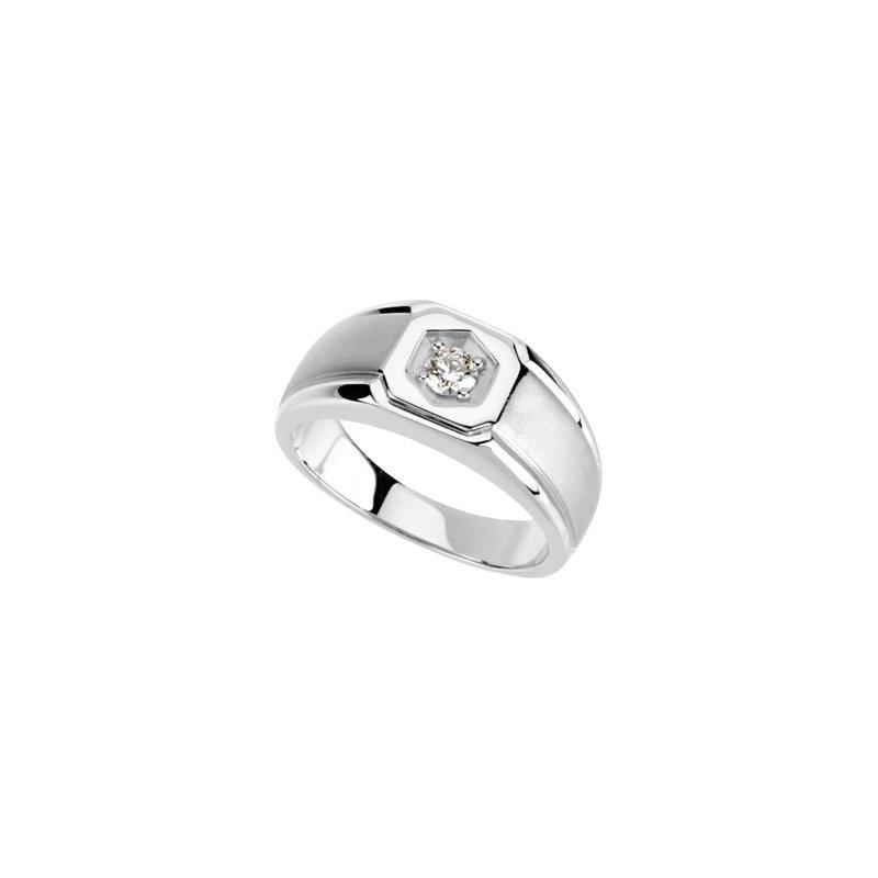 Holiday Ideas 1/4 ct tw Gents Diamond Ring
