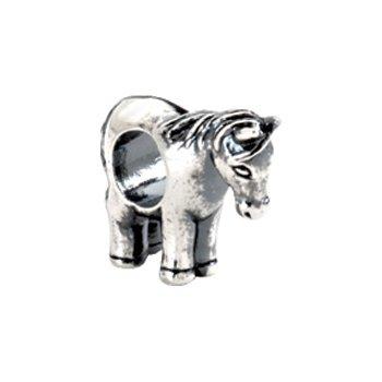 Kera Sterling Silver Horse Bead
