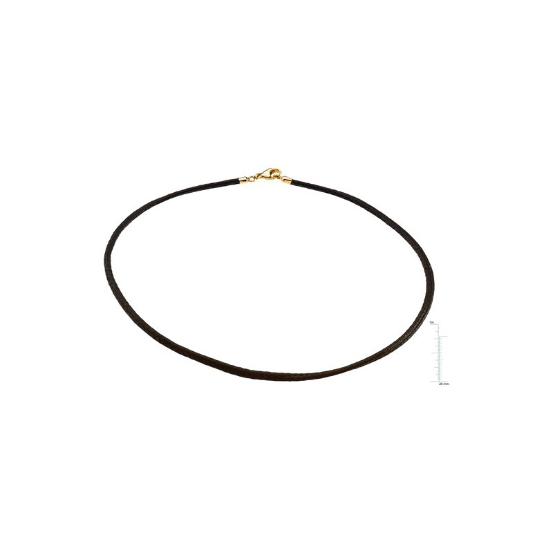 Ladies' Jewelry Black Leather Cord