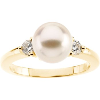 Akoya Cultured Pearl Ring