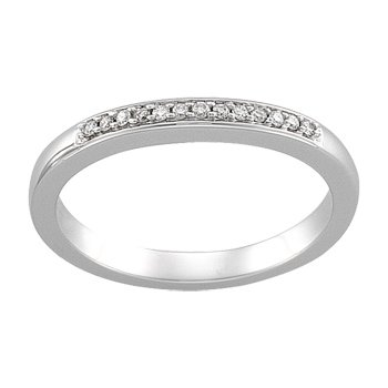 .07 ct tw Diamond Wedding Band