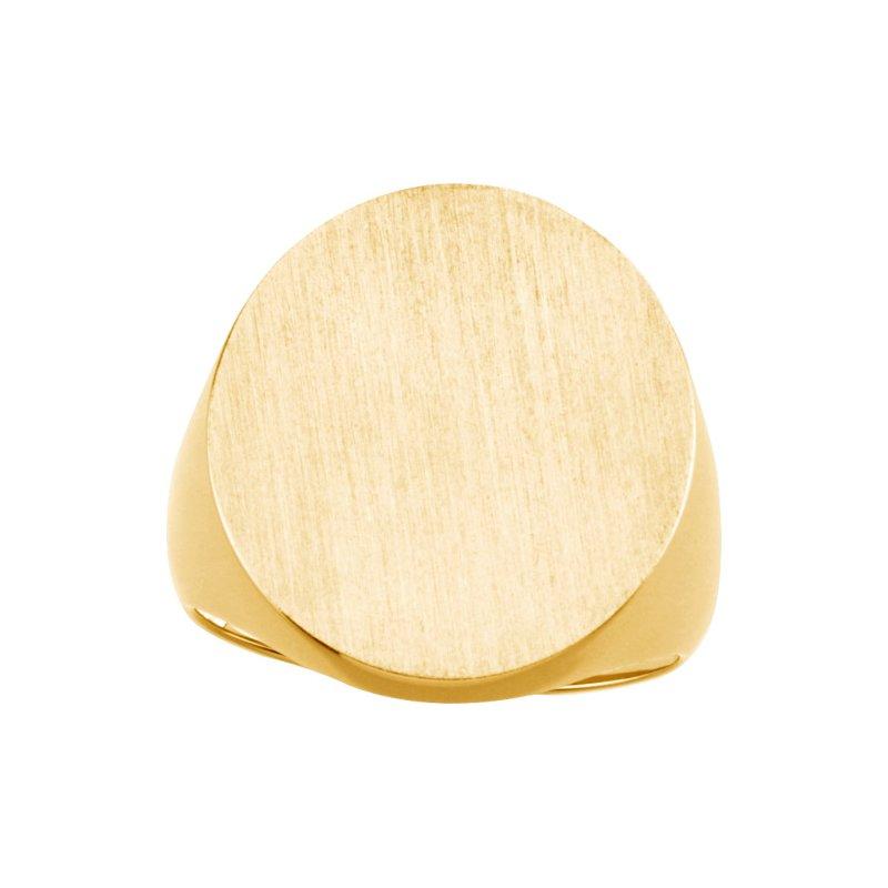 Men's Jewelry Men's Gold Signet Ring