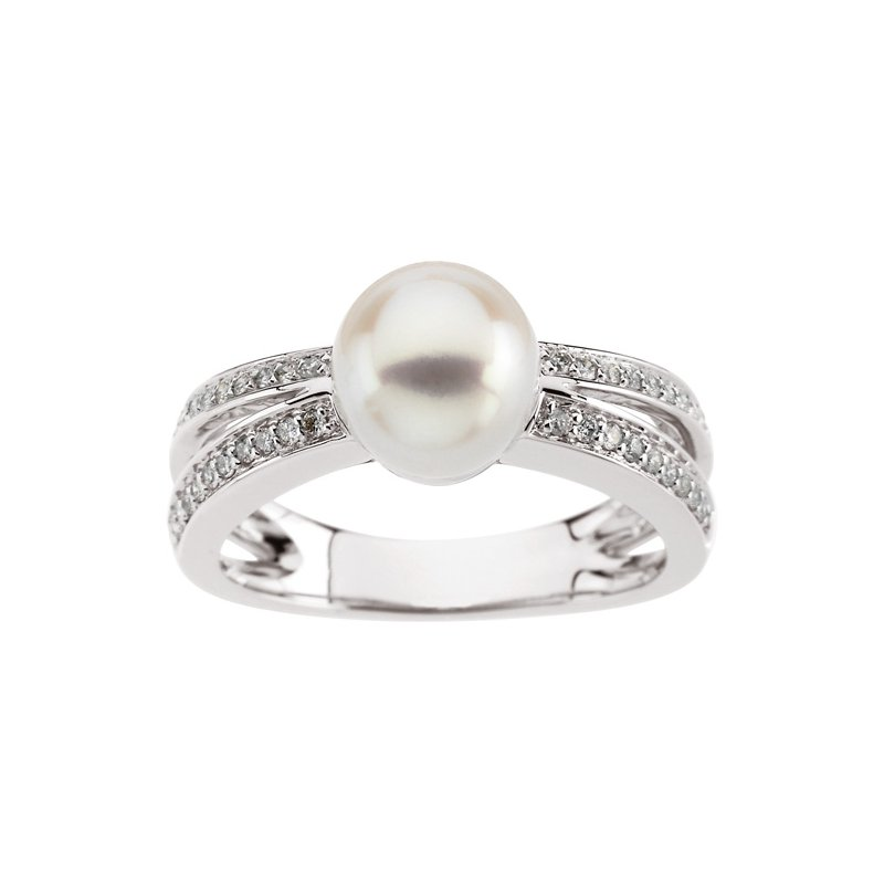 Ladies' Jewelry Freshwater Cultured Pearl Ring