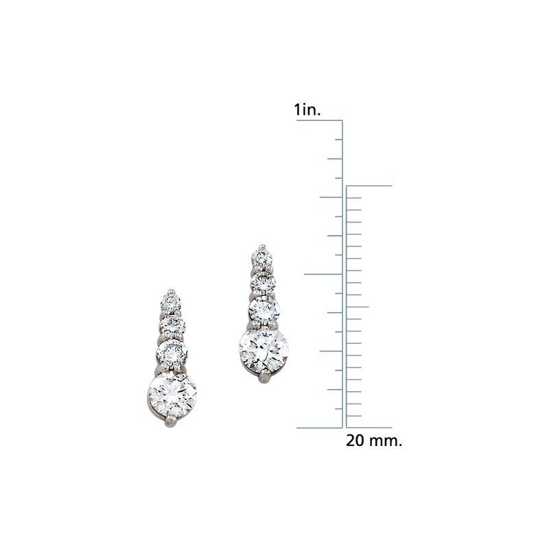 Ladies' Jewelry Journey Diamond Earrings