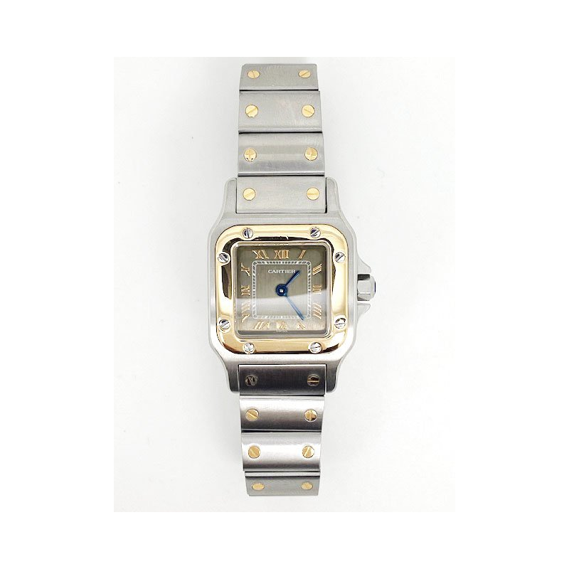 Pre-owned and Vintage Watches Lady's 18K yellow gold and stainless steel Cartier watch