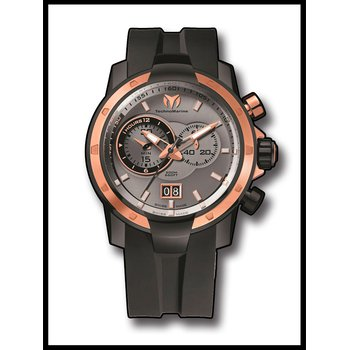 TechnoMarine UF6 Chronograph SMALL SECOND - Black