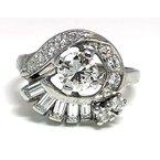 Estate & Vintage Vintage bridal, Retro design ring
