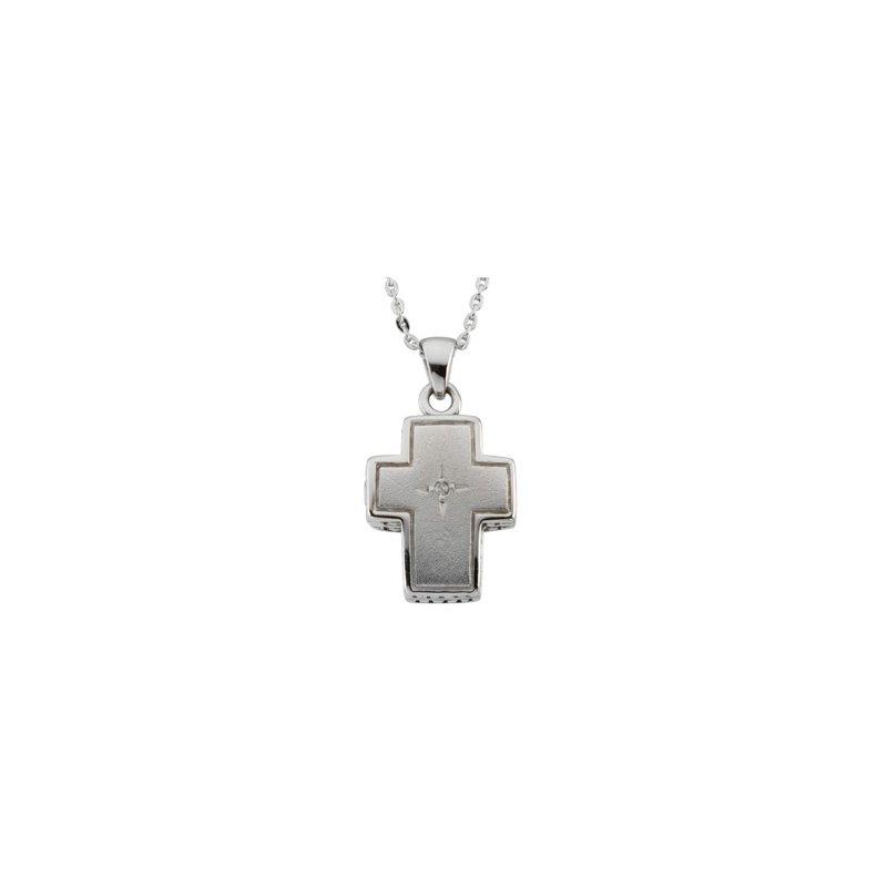 Religious Jewelry Prayer Locket Necklace