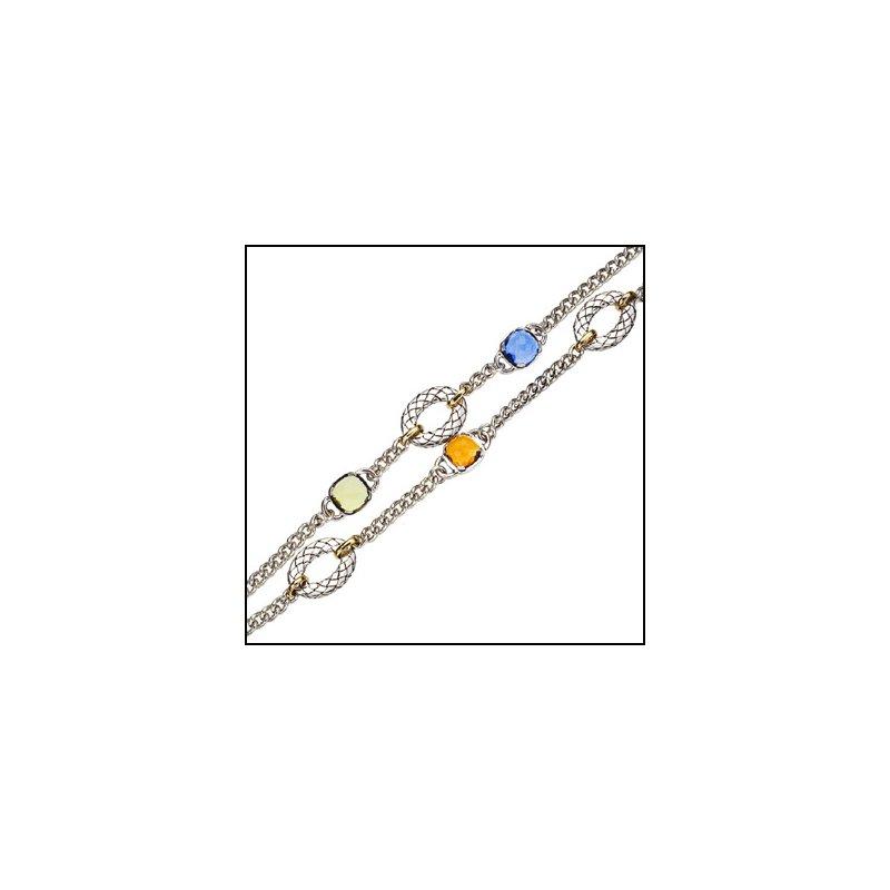 Designer Jewelry Multistone Bracelet