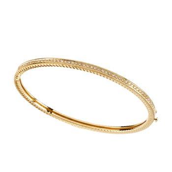 1/3 ct tw Diamond Bangle Bracelet