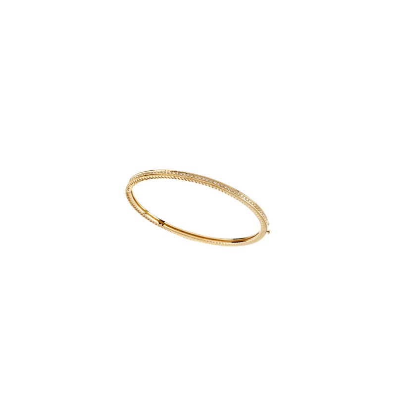 Holiday Ideas 1/3 ct tw Diamond Bangle Bracelet