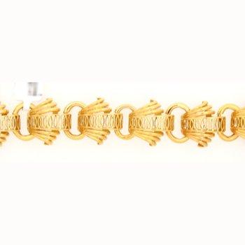 Vintage 14-18K Deco Style Bracelet