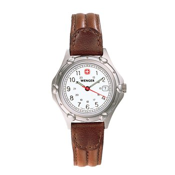 Wenger Ladies Brown Standard Issue Watch