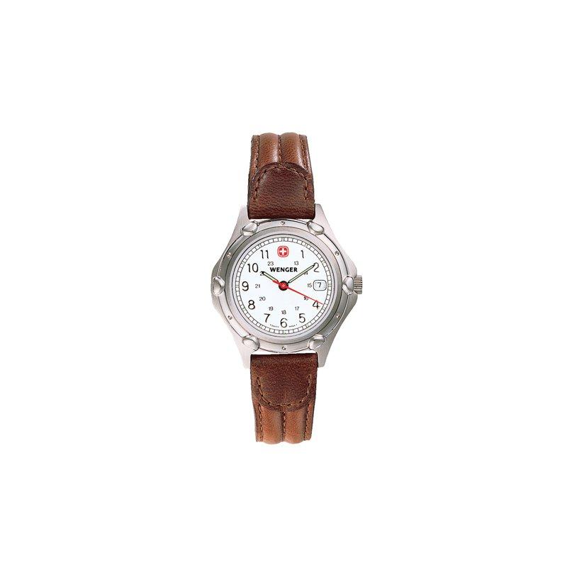 Eisen Watches Wenger Ladies Brown Standard Issue Watch