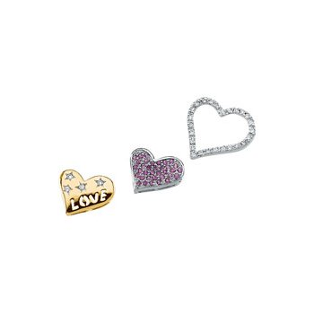Genuine Pink Sapphire & Diamond Convertable Pendant