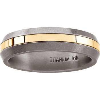 Comfort-Fit Wedding Band - Sizes 5-8 1/2