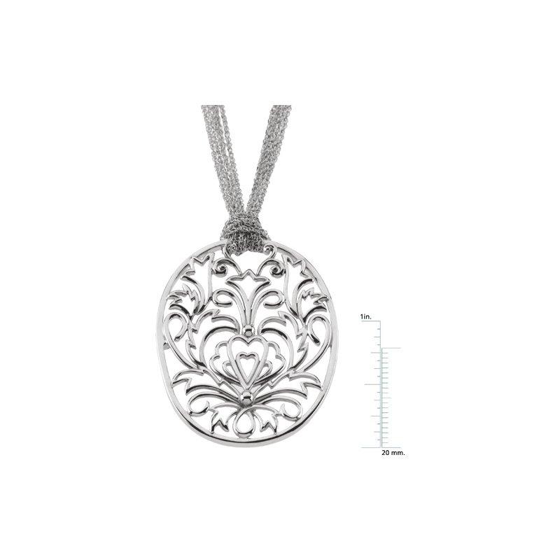 Ladies' Jewelry Gold Fashion Filigree Necklace