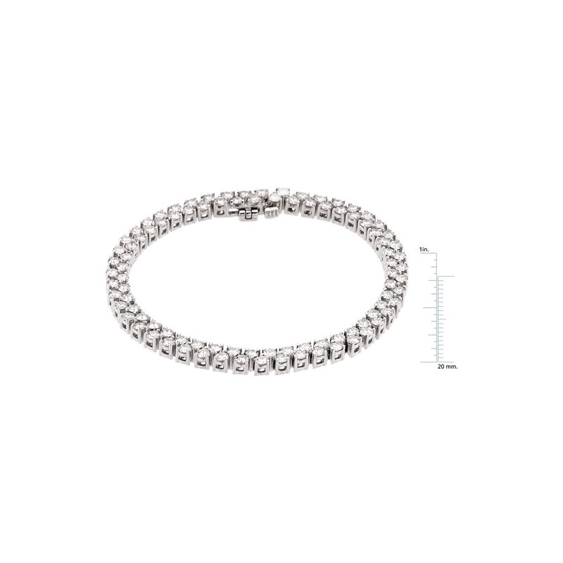 Ladies' Jewelry Moissanite Bracelet