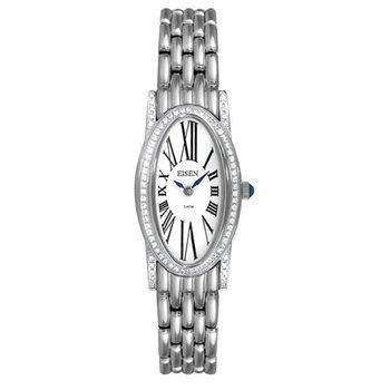 Eisen Lady's Stainless Steel Designer Quartz Wrist Watch