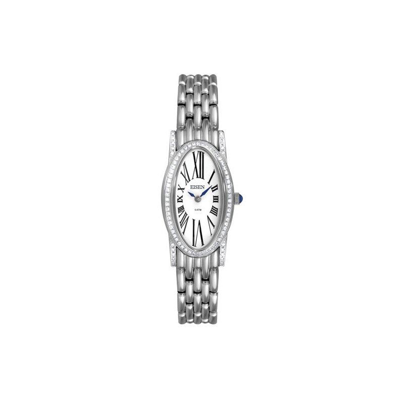 Eisen Watches Eisen Lady's Stainless Steel Designer Quartz Wrist Watch