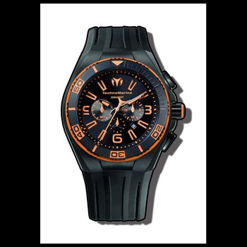 TechnoMarine Watch Cruise Night Vision II Orange