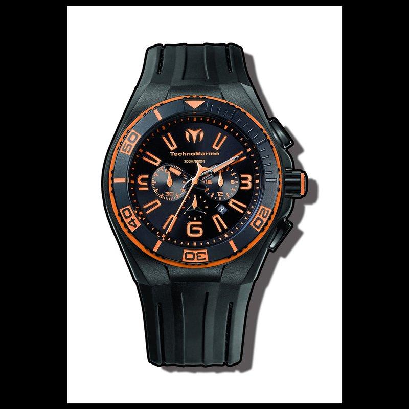 TechnoMarine TechnoMarine Watch Cruise Night Vision II Orange