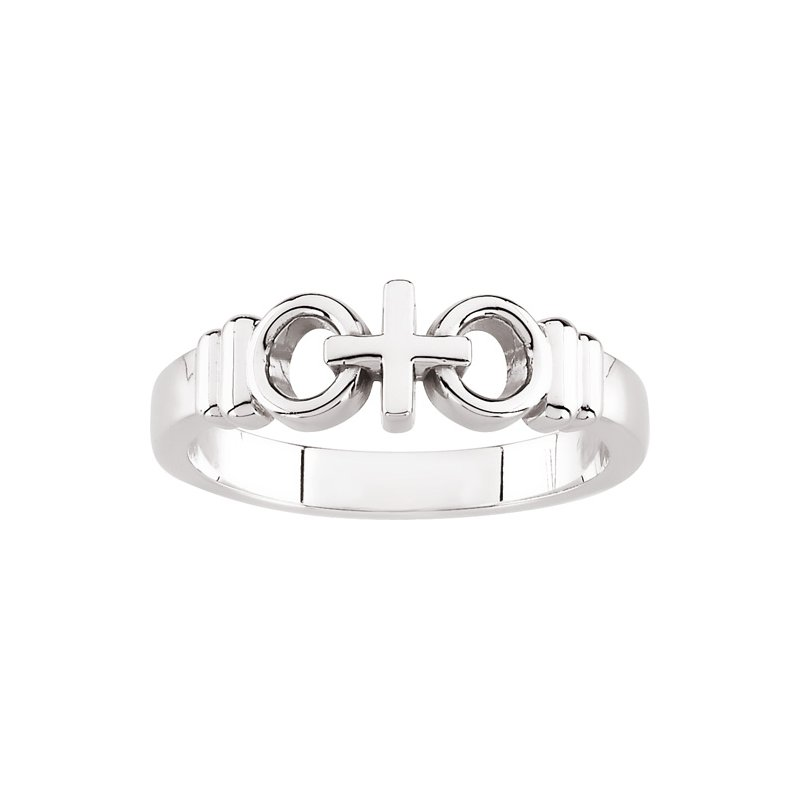 Religious Jewelry Joined by Christ Ring - Sizes 2-8 1/2