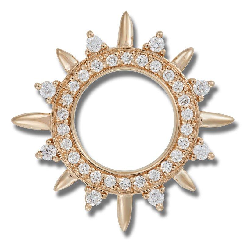 El Paso Star and Gifts Heartbeat of El Paso Collection: El Paso Sun Gold Pendant
