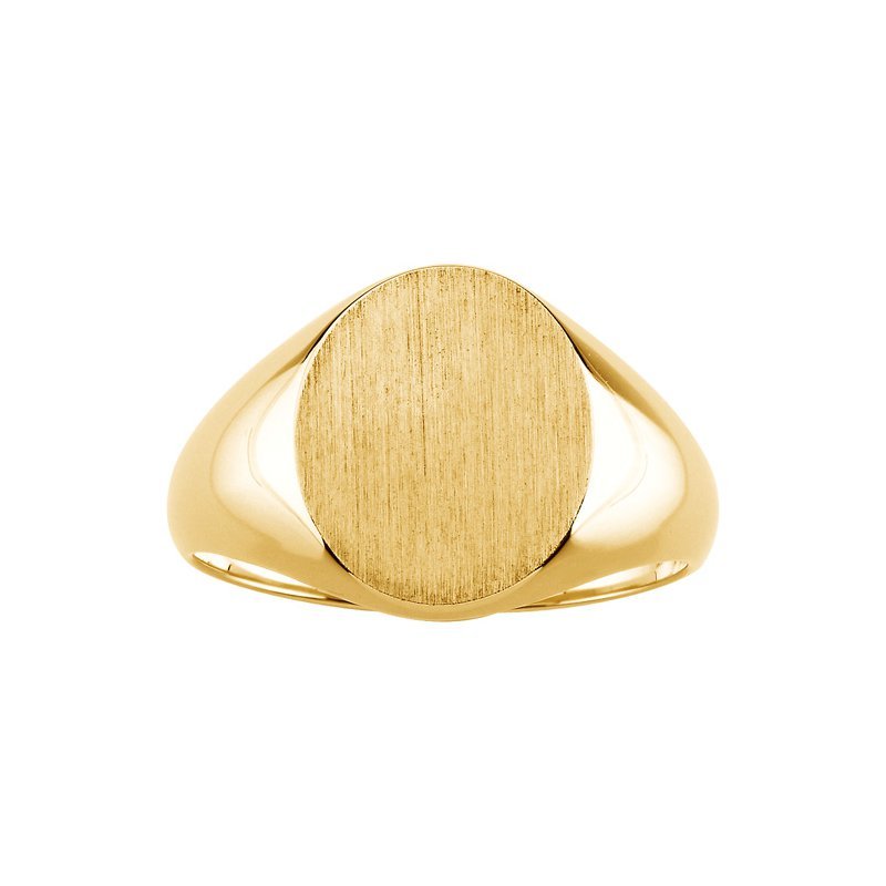 Men's Jewelry Men's Gold Signet Ring