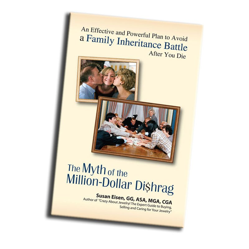 Books (eBook) Myth of the Million Dollar Dishrag: An Effective and Powerful Plan to Avoid a Family Inheritance Battle After You Die