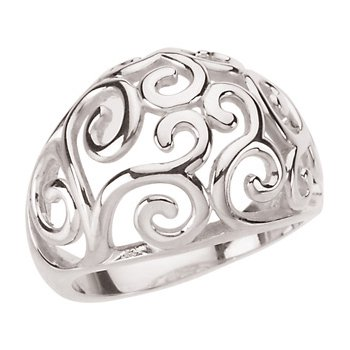 Fashion Scroll Ring