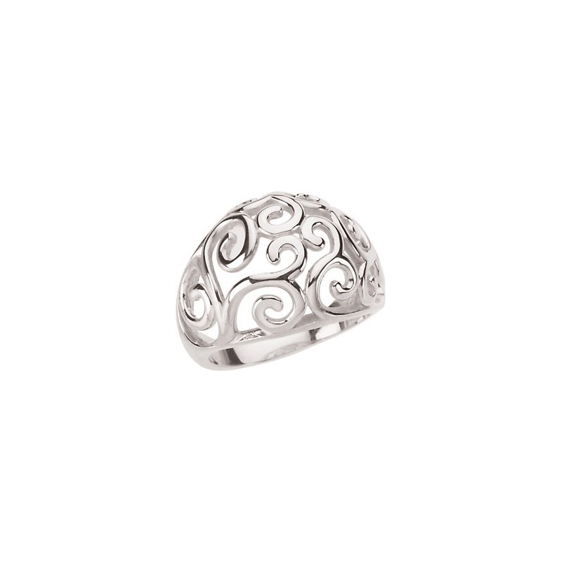 Ladies' Jewelry Fashion Scroll Ring