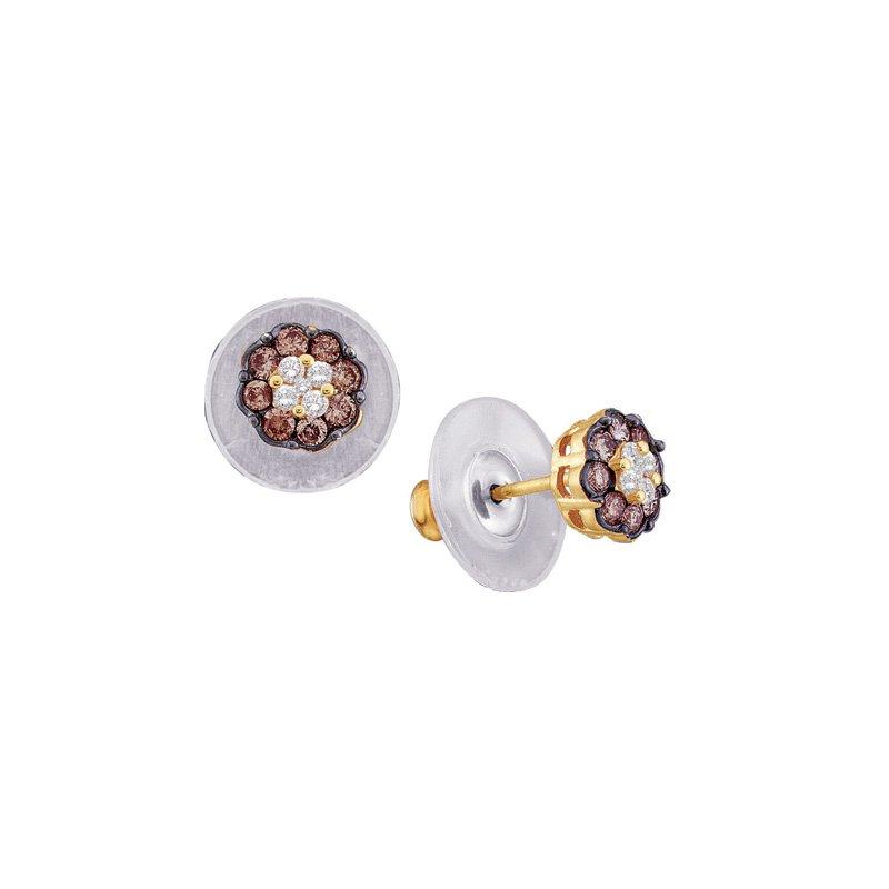 Valentine Gift Ideas Diamond Flower Earrings