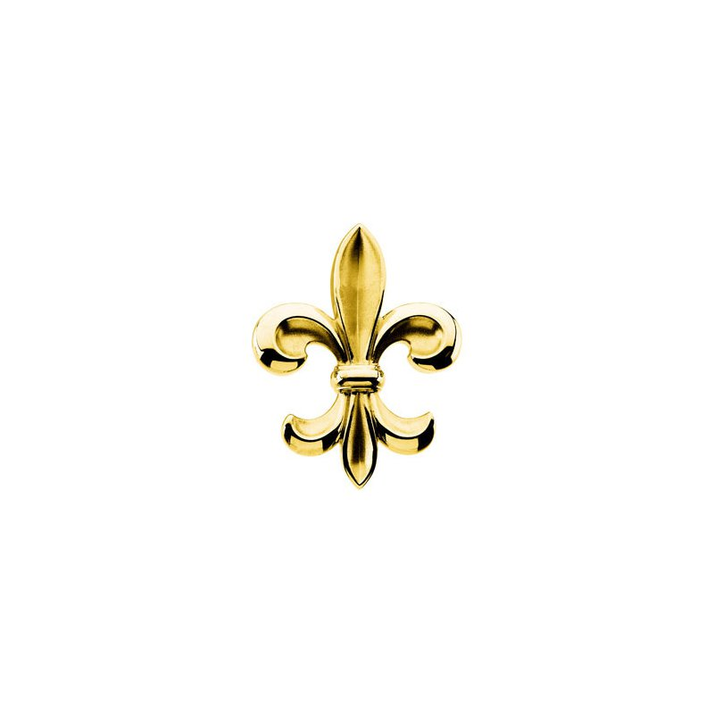 Ladies' Jewelry Fleur-de-Lis Brooch