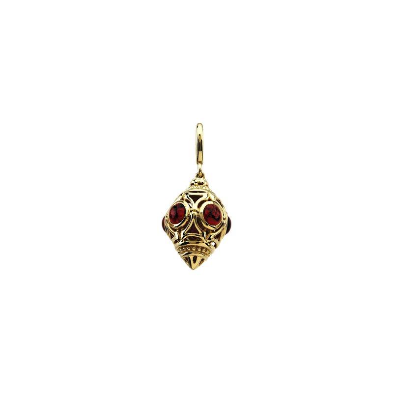 Ladies' Jewelry Genuine Rhodolite Garnet Charm