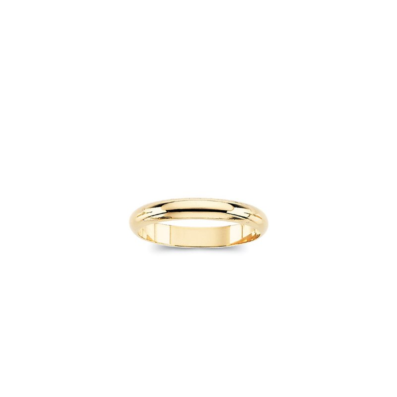 Holiday Ideas Half-Round Bands (Ladies' and Men's Sizes) 6mm Width