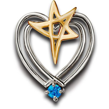 Heartbeat of El Paso Collection: El Paso Star® and Heart Pendant