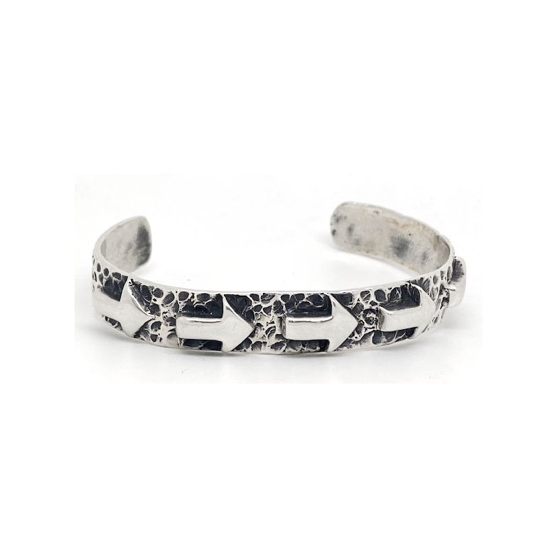 Vintage Silver Contemporary American sterling silver bracelet