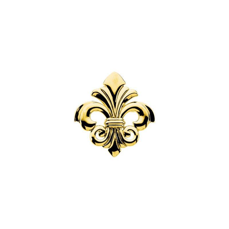 Ladies' Jewelry Fleur-de-Lis Brooch