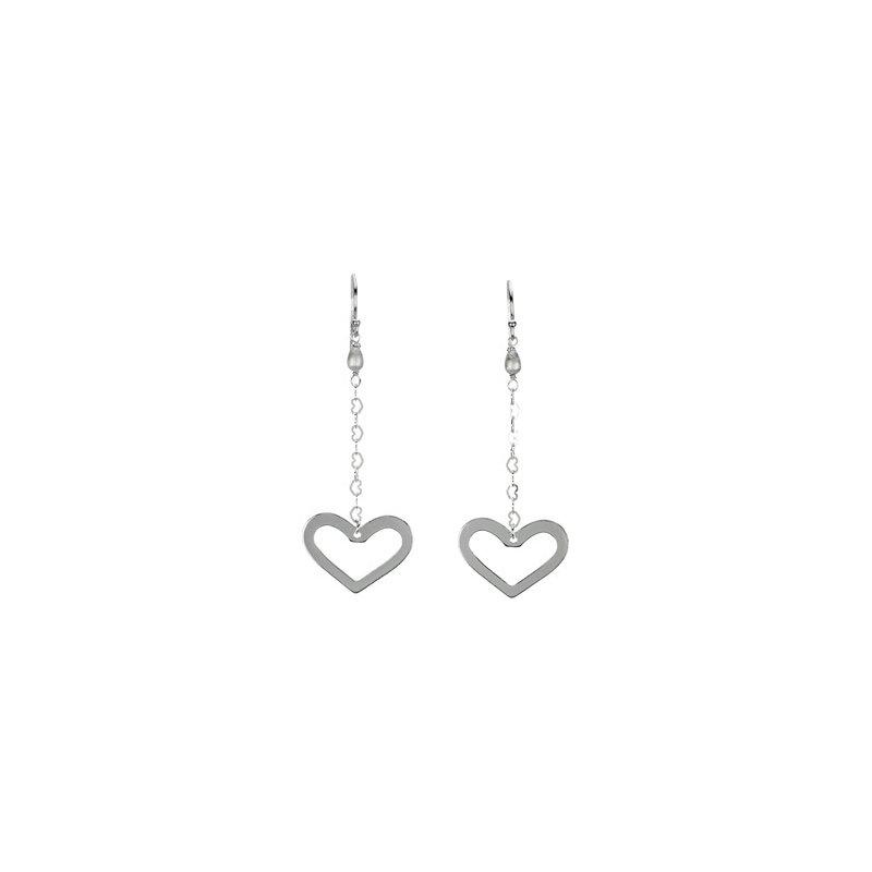 Ladies' Jewelry Heart Dangle Earrings