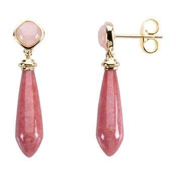 Genuine Multi Gem-stone Earrings