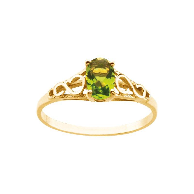 Birthstone Jewelry Teen Imitation August Birthstone Ring