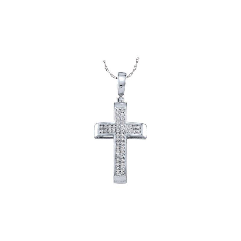 Valentine Gift Ideas Diamond Cross Pendant