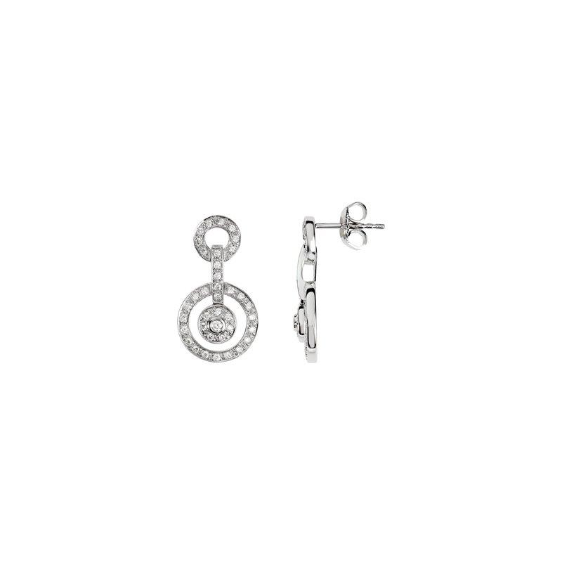 Holiday Ideas 3/8 ct tw Diamond Earrings